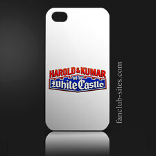 White castle hamburgers logo 2 food burger king iphone 4 4g 4s hard case cover