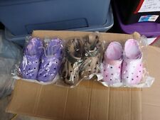 ladies clogs size 8/9 choice colors first four pictures (one pair) choice color