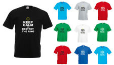 Keep Calm And Destroy The Ring, The Lord of the Rings inspired Men's T-Shirt