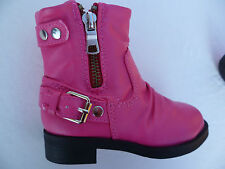 NEW FUCHSIA TODDLER GIRLS BOOTS SHOES SIZE: 4-8