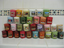 Yankee Candle 6 Votives You Pick  The Scent Free Shipping  X 6