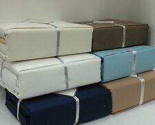 Luxury Perthshire 1000TC Thread Count Solid 100% Egyptian Cotton Sheet Set