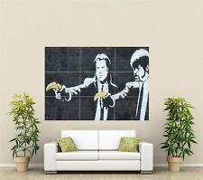 Banksy Pulp Fiction Giant XL Section Wall Art Poster Art107