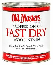 Old Masters Professional Fast Dry Wood Stain - 1 Quart!