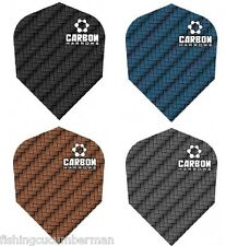 HARROWS CARBON SUPER TUFF DART FLIGHTS  CHOICE OF COLOURS