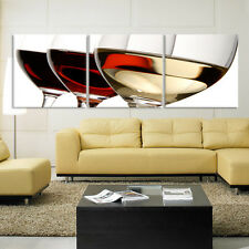 WINE&GLASS ready to hang picture set of 3 mounted on MDF/betterThan canvas print