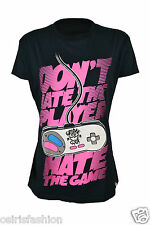 Gothic T Shirt Emo Punk Alternative Skinny Fit Cupcake Cult Player Hater T Shirt