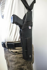 Beretta Cougar 8040 8045   Vertical Shoulder Holster w/ Double Mag Pouch