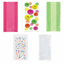 Party Cello Cellophane Sweet Treat Filler Bags with Twist Ties all here