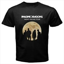 IMAGINE DRAGONS Night Vision Tour Black T-Shirt Size S to 3XL Brand New