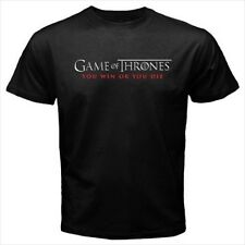 Game Of Thrones You Win Or Die Black T-Shirt Size S to 3XL Brand New