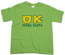 Kids Monsters Inc University Green Oozma Kappa T-Shirt 3-4 5-6 7-8 9-11 12-13yrs