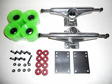 169mm Trucks Polish + 60mm Wheels for Oldschool Vintage Skateboard Skate Board