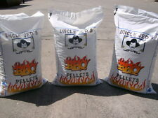Wood Pellets BBQ ~ GRILL! APPLE, HICKORY, MESQUITE 25lb Bags -TWO BAG SALE!!