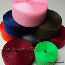 2 inch (50mm) Sew On Color velcro-like Hook and Loop fastener tape