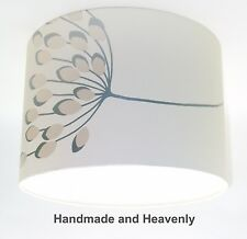 Lampshade Handmade with NEXT Starburst Silver Beige Wallpaper VARIOUS SIZES