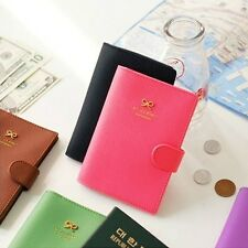 Fashion Crown Buckles NO SKIMMING e-Passport Protect Cover / Passport case