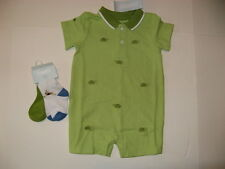 Gymboree Turtle and Rabbit Baby Boys size 3 6 9 12 18 m Romper or Socks NWT