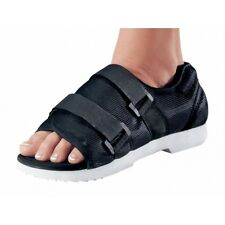 NEW MEDICAL/ SURGICAL POST-OP SHOE BLACK W/ HOOK&LOOP-STYLE CLOSURE ALL SIZES