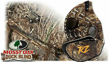 RZ Mask Mossy Oak- Duck Blind, 2 Filters, Storage Bag, Scentless Hunting Mask