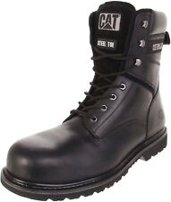 "Caterpillar RANGLER MR 8"" Steel Toe Mens  Work and Safety  Black Boots"