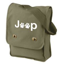 Jeep Paw Print Cotton Canvas Bag - Many Colors!
