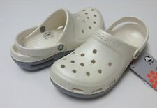 Crocs Duet Core Plus Clog Oyster Silver Men Women Size 4 5 6 7 8 9 10 11 12 13