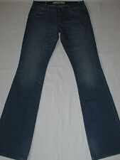 LADIES ABERCROMBIE & FITCH EMMA PERFECT STRETCH BOOT CUT JEANS W24