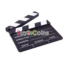 Director Video Scene Clapperboard TV Movie Clapper Board Film Slate Cut DHUS