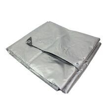 Capri Tools Heavy Duty 3 Layer Silver Tarp Patio Cover - Select From 45 Sizes