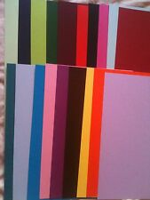 10 A5 CARD BLANKS WITHOUT ENVELOPES 20+ COLOURS (YOU CHOOSE COLOUR) FREE POSTAGE
