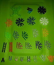 K'Nex Knex Connectors and clips various styles quantities available free UK post