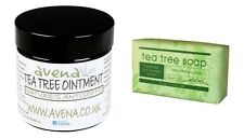 Tea Tree Ointment Soap Athletes Foot Itching Insect Bites Acne Spots