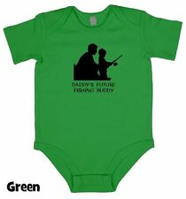 Future Fishing Buddy - Baby Grow Boy Girl Babies Clothes Gift Funny Cool Present