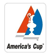 Americas Cup Vinyl Decal Sticker USA MADE Locker TOOL BOX Auto BUMPER Boat R386