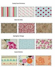 Stampin Up Designer Series Fabric Multiple Choice 3 Fat Quarters per pack NEW