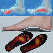 Premium Orthotic Insoles, Gel High Arch Support, Gel Pad, 3D Arch support