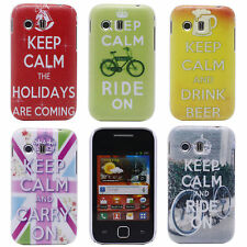 Trendy Bike Crown Image Design Hard Back Protect Case for Samsung Galaxy Y S5360