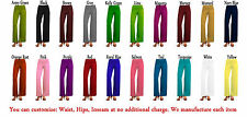 Women's Solid Color Palazzo Wide Legged Pants Leggings