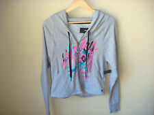 Hurley Girls Gray Zip Up Hoody Jacket Size Medium NWT