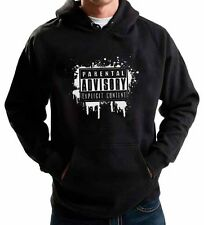 PARENTAL ADVISORY EXPLICIT CONTENT HOODIE MUSIC VIDEO GAME WARNING JUMPER