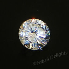 (5mm - 8mm) Round White Cubic Zirconia (CZ) AAA Good Quality