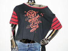 Ed Hardy by Christian Audigier Women's Cropped Top Sizes X-Small & Small - NWT