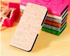 magic lucky girl witch PU Leather Pouch Cover Flip Case For LG MOBILE PHONES 2