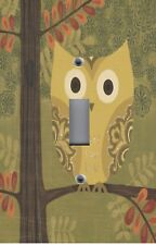 Light Switch Plate Switchplate & Outlet Covers KID'S ROOM FOREST OWL