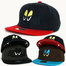 Black Out Eyes Logo Hip-Hop Snapback Hats Baseball Cap K-POP Fashion Running Hat