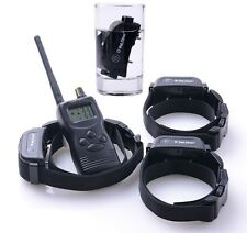 1000M Rechargeable Pet Dog Training Collar No Bark Collar Waterproof 1,2,3 Dogs