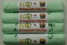 8L & 10L Compostable Bags Caddy Bin Liners Food Waste Bags Bio Bags. Made in UK