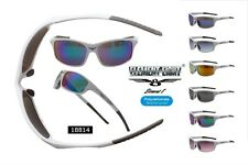 Men's White Sport Sunglasses Cycling Running Outdoor Element Eight UV400 EE18814