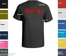 CROSSFIT Fitness exercise T-Shirt Training Gym  Body Building Workout Shirt